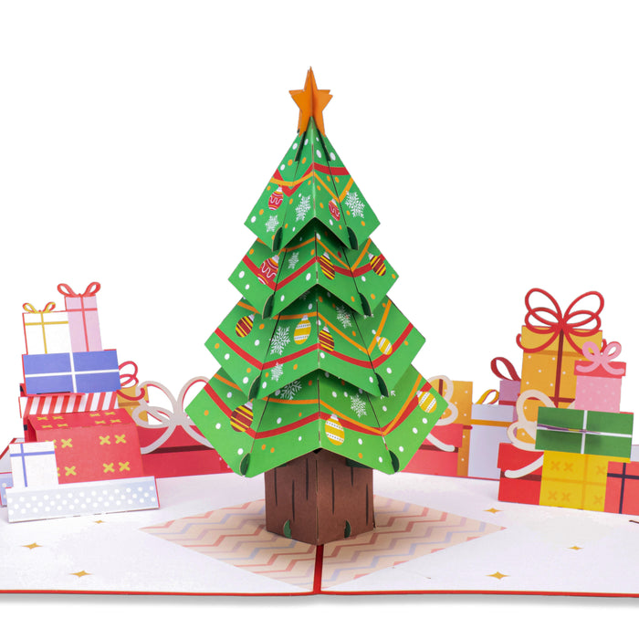 Christmas Tree Pop Up Card…