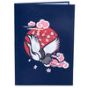 Japanese Crane Pop Up Card