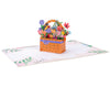 Flower Basket Pop Up Card