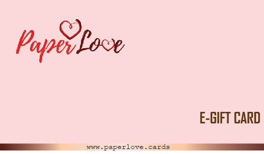 Paper Love Gift Card