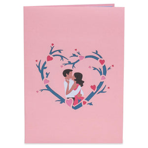 Lovers Pop Up Card
