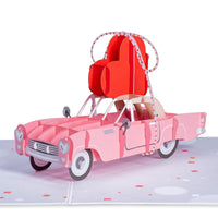 Love Car Pop Up Card