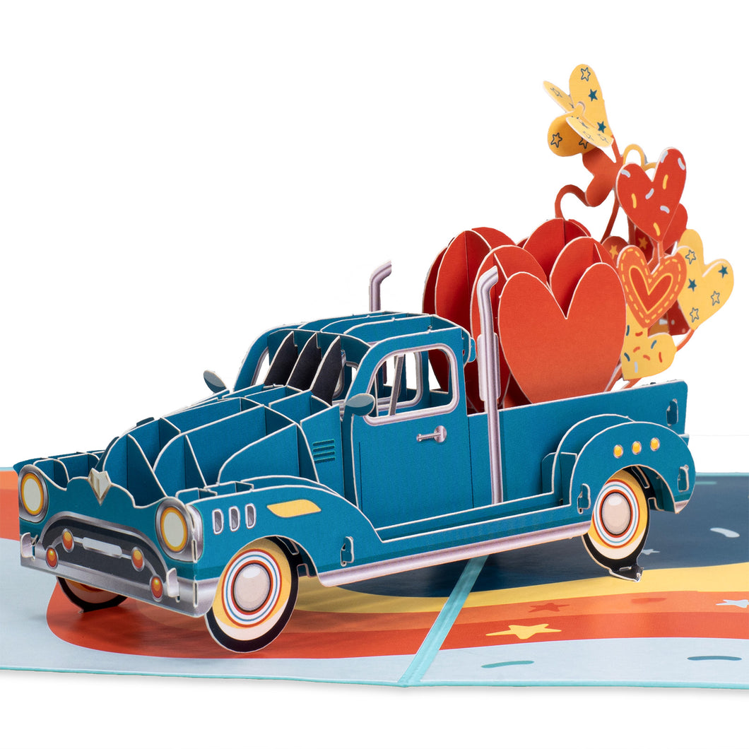 Truck Pop Up Card