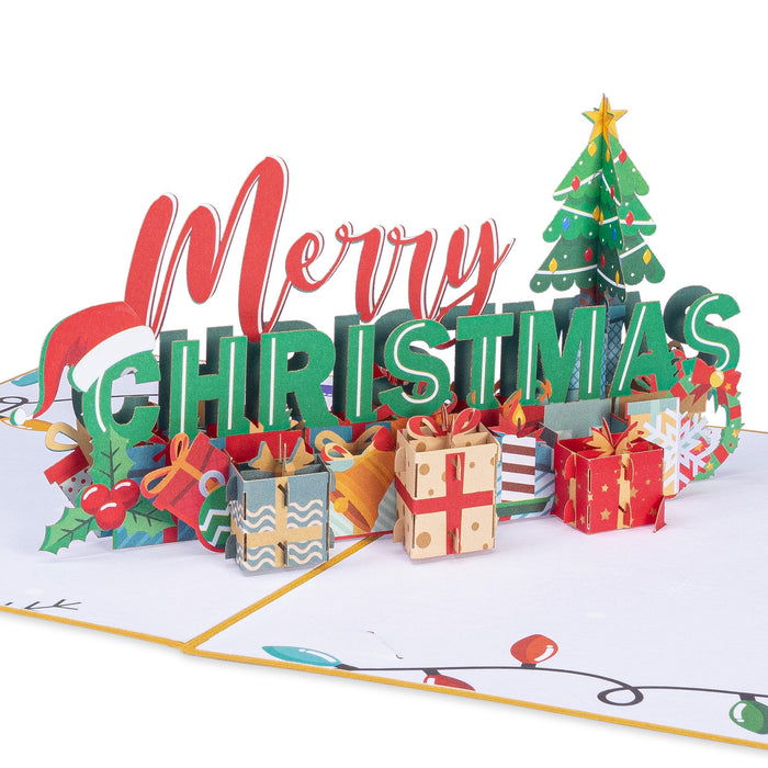 Merry Christmas Pop Up Card