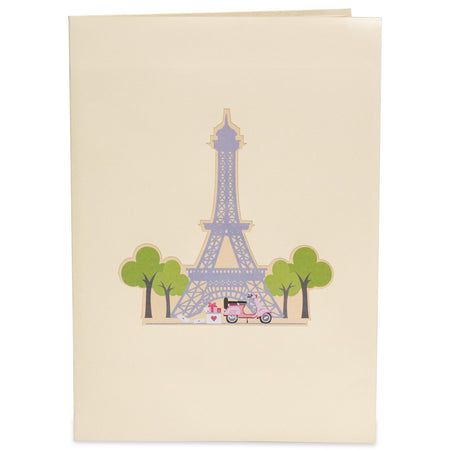 Paris Pop Up Card