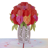 Paper Love Roses Bouquet