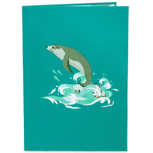 Seal Pop Up Card