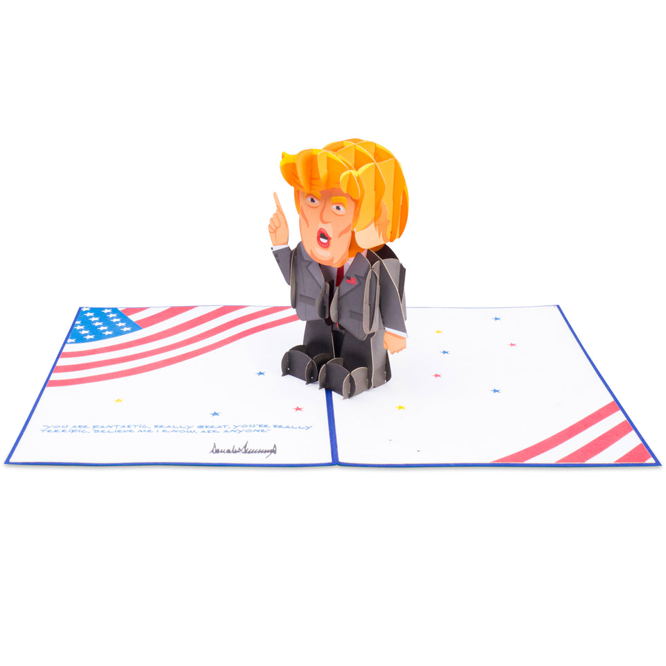 Paper Love Trump Pop Up Card