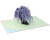 Wisteria Tree Pop Up Card