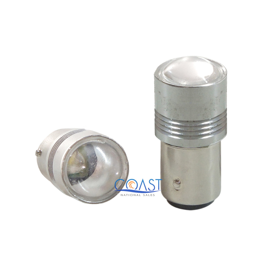CREE High Power Projector Samsung White LED DRL Fog Light Bulb 1157 - Pair