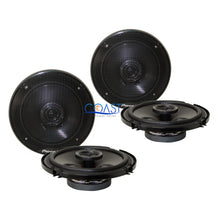 "Load image into Gallery viewer, 2X Pioneer Car Audio Pro Flush 6.5"" 250W 2-Way Speakers TS-G1645R"