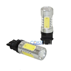 CREE XBD 6000K Samsung White LED Projector DRL Fog Light Bulb 3156 3157 - 2PCS