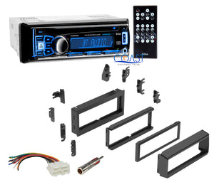 Boss Car Radio Bluetooth Dash Kit Harness For GMC Saturn Chevrolet 1982-UP