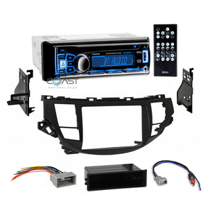 Boss Car Stereo Bluetooth Dash Kit Harness for 2008-12 Honda Accord Crosstour
