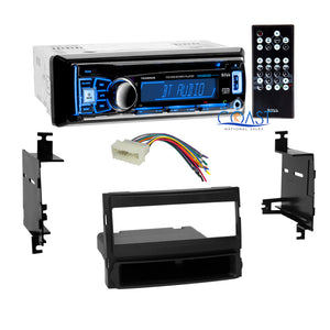 Boss Car Radio Stereo Bluetooth Dash Kit Harness For 2007-10 Hyundai Elantra