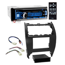 Load image into Gallery viewer, Boss Car Radio Bluetooth Double Din Dash Kit Harness for 12-14 Toyota Camry