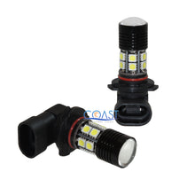 Load image into Gallery viewer, CREE-XPE Projector 12 High Power Samsung White LED DRL Fog Light Bulb 9005 5050