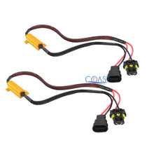 Load image into Gallery viewer, Error-Free Load Resistor LED Warning Light Decoder Harness 9005 HB3 - 2 pcs