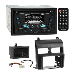 Power Acoustik CD USB MP3 BT Stereo Dash Kit Harness for 1988-94 Chevy GMC