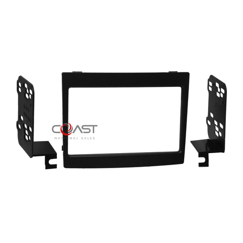 Scosche Car Radio Stereo Double Din Dash Kit Trim Bezel for 2004-06 Pontiac GTO
