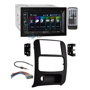 Soundstream 2018 DVD Bluetooth Stereo Dash Kit Harness for 02-07 Jeep Liberty