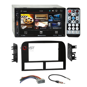 Power Acoustik USB MP3 BT Radio Dash Kit Harness for 02-04 Jeep Grand Cherokee