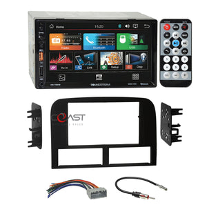Soundstream USB Bluetooth Radio Dash Kit Harness for 02-04 Jeep Grand Cherokee