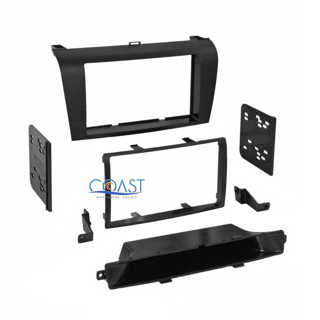 Metra Car Stereo Double DIN Dash Kit Trim for 2004-2009 Mazda 3 Series 95-7504