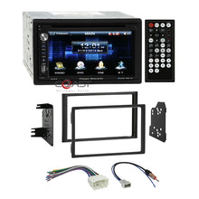 Load image into Gallery viewer, Power Acoustik DVD USB Bluetooth Stereo Dash Kit Harness for 06-08 Honda Pilot