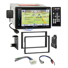 Load image into Gallery viewer, Soundstream DVD USB GPS Bluetooth Stereo Dash Kit Harness for 06-08 Honda Pilot