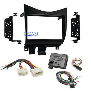 Car Radio Stereo Dash Kit Harness Steering Wheel Control for 03-07 Honda Accord