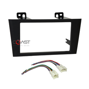 Car Radio Stereo Double Din Dash Kit Wire Harness for 2000-04 Toyota Avalon