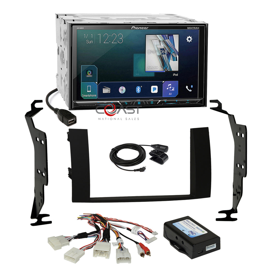 Pioneer DVD Sirius GPS Ready Stereo Dash Kit JBL Harness for 04-09 Toyota Prius