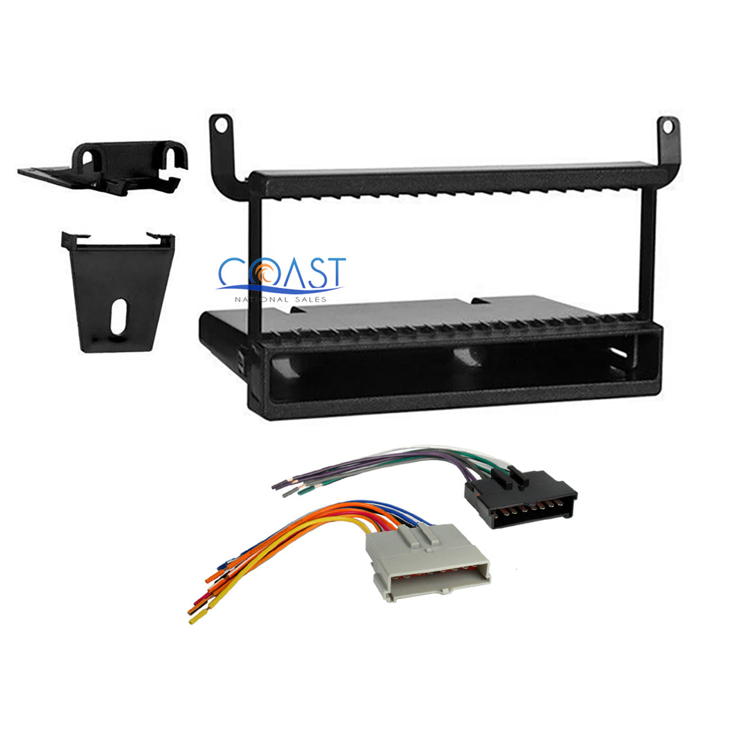 Metra Car Radio Stereo Din Dash Kit Harness for 95+ Ford Lincoln Mazda Mercury