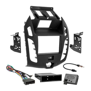 Metra Car Radio Stereo Single 2Din Dash Kit RAP Harness for 14-up Ford Transit
