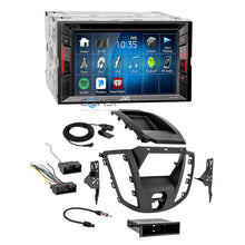 Load image into Gallery viewer, JVC 2018 DVD Bluetooth Stereo 2 Din Dash Kit Harness for 2015-16 Ford Transit