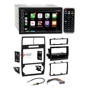 Power Acoustik DVD Carplay Stereo Dash Kit Harness for 05+ Dodge Magnum Charger