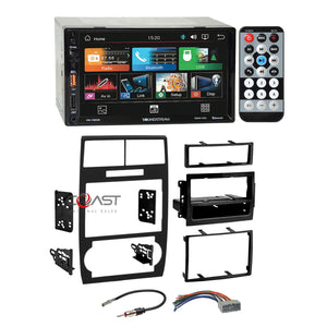 "Soundstream 7"" LCD USB BT Stereo Dash Kit Harness for 05+ Dodge Magnum Charger"