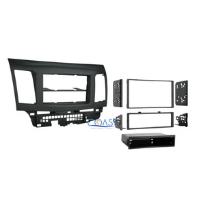 Car Stereo Radio Single Double Din Dash Kit for 2007-2013 Mitsubishi Lancer