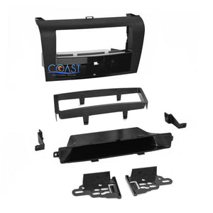 Metra Car Stereo Single DIN Dash Kit Harness Combo for 2004-09 Mazda 3 99-7504