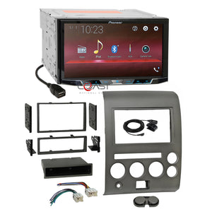 "Pioneer 7"" Camera Input Stereo Dash Kit Harness for 06-07 Nissan Armada Titan"