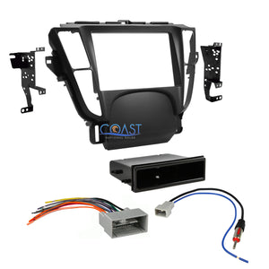 Car Stereo Single Double Din Dash Kit Harness Antenna for 2009-2014 Acura TL