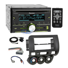 Load image into Gallery viewer, Pioneer USB Sirius Bluetooth 2Din Stereo Dash Kit Harness for 2007-08 Honda Fit
