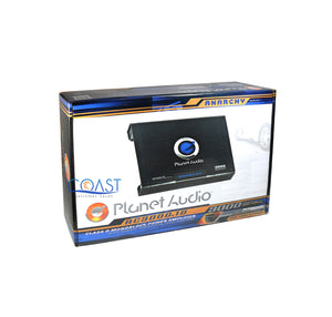 Planet Audio Anarchy 3000W Monoblock Class D Car Audio Amplifier New AC3000.1D