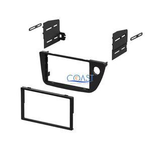 Single Double DIN Stereo Dash Kit Harness Antenna for 2002-2006 Acura RSX All