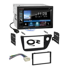 Load image into Gallery viewer, Kenwood DVD Sirius Waze Bluetooth Stereo Dash Kit Harness for 2002-06 Acura RSX