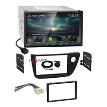 Load image into Gallery viewer, Kenwood Sirius Carplay Android Auto Stereo Dash Kit Harness for 02-06 Acura RSX