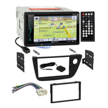 Load image into Gallery viewer, Soundstream DVD GPS Bluetooth Stereo Dash Kit Wire Harness for 02-06 Acura RSX