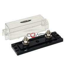 Load image into Gallery viewer, Durable Car Audio 0/2/4 GA Platinum ANL Clear Inline Fuse Holder ANL1010P