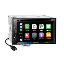 Load image into Gallery viewer, Pioneer Carplay Sirius Stereo Dash Kit SWC Harness for Chevrolet Silverado GMC